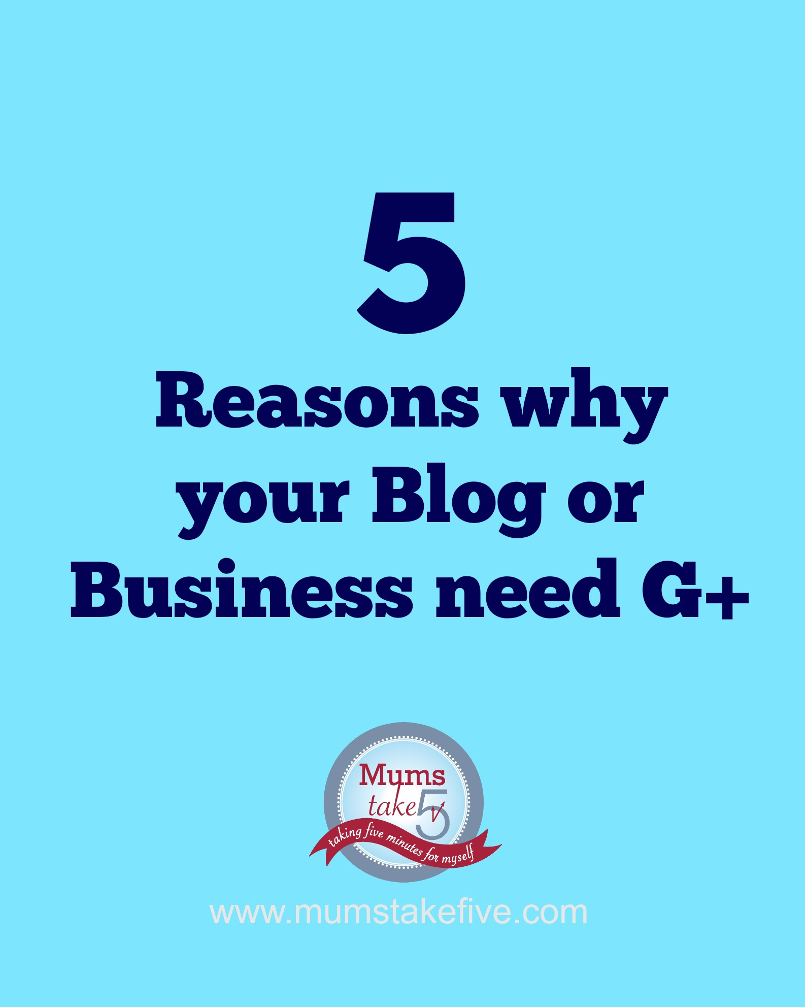 five reasons you need google plus
