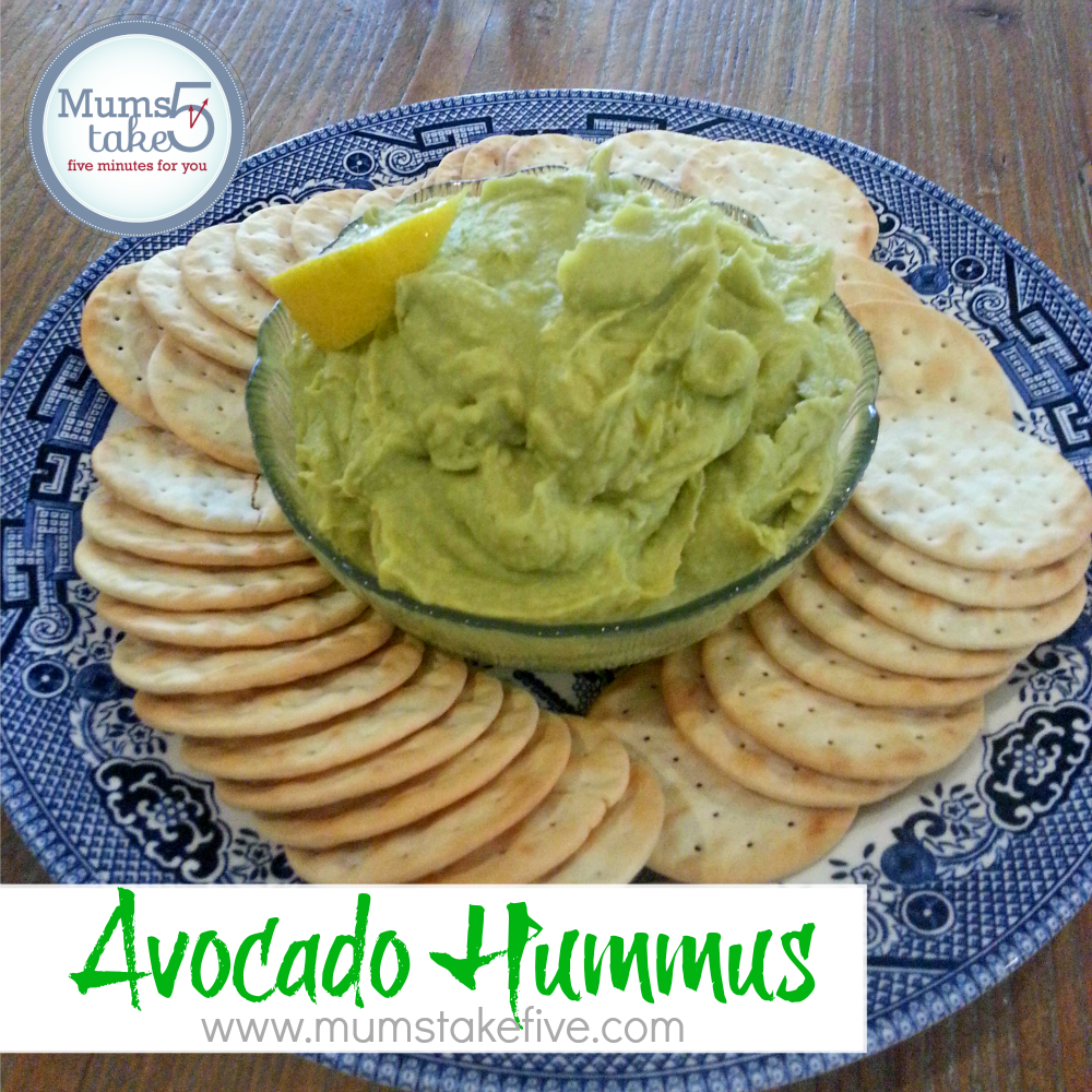 Avocado Hummus Recipe