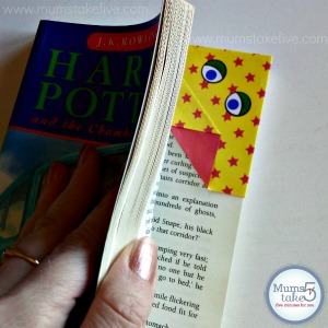 Kids Origami Bookmark