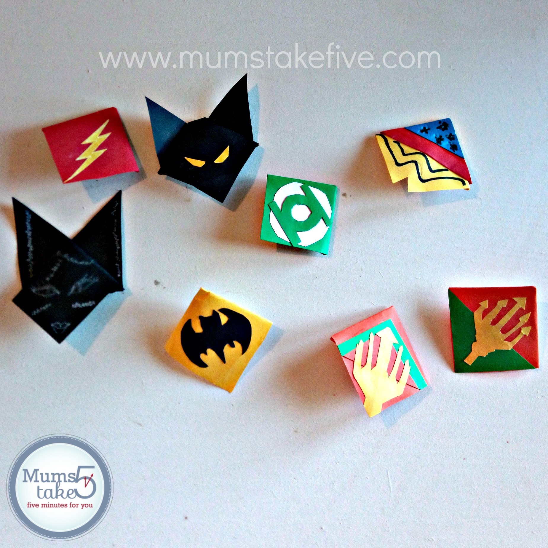 Kids Origami Bookmark Craft