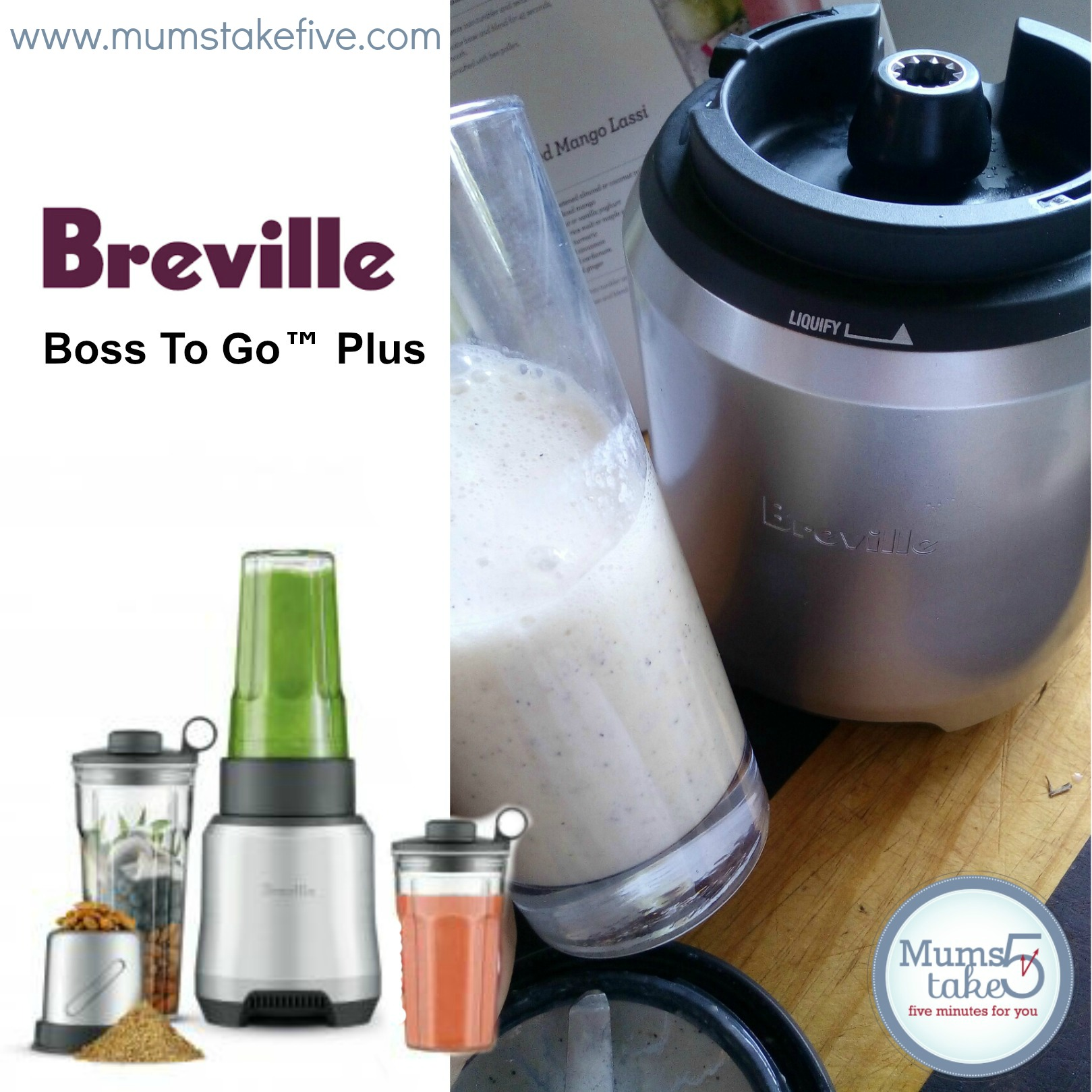 Breville Boss To Go™ Plus