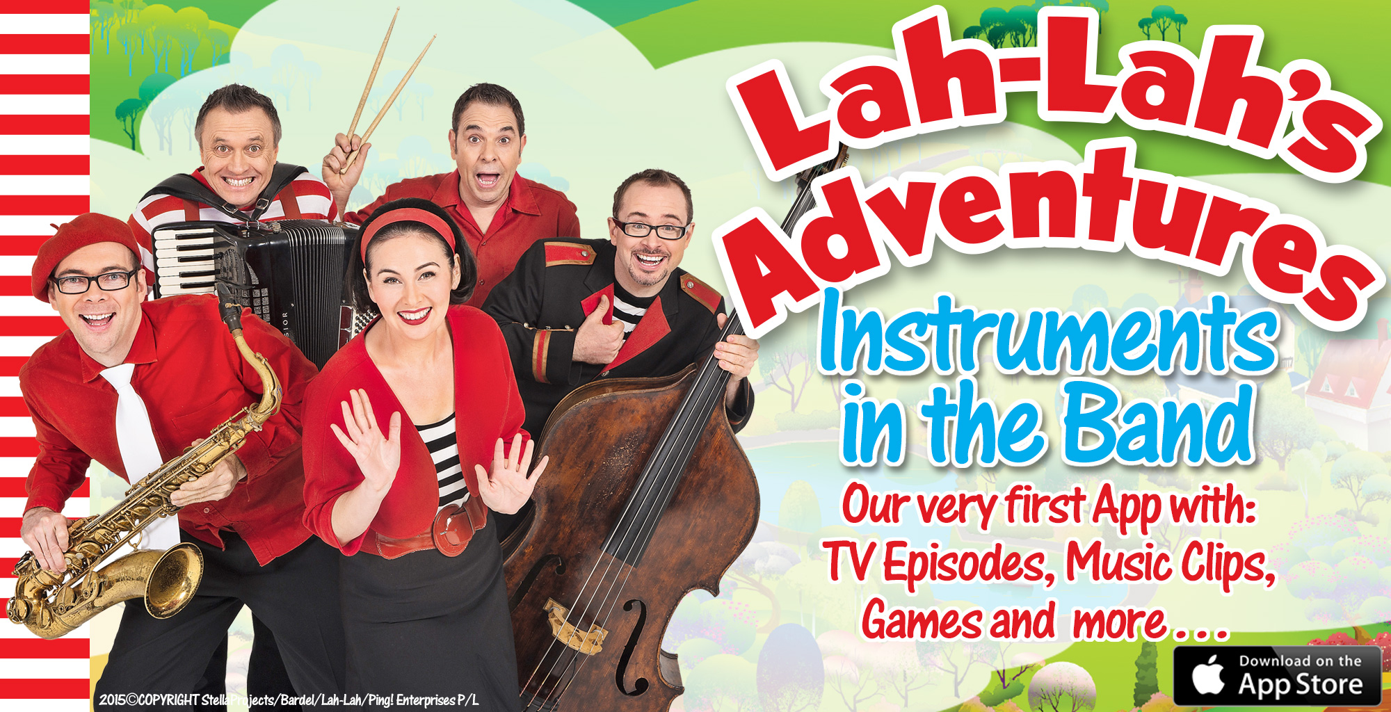 lah lahs big live band instruments in the band app