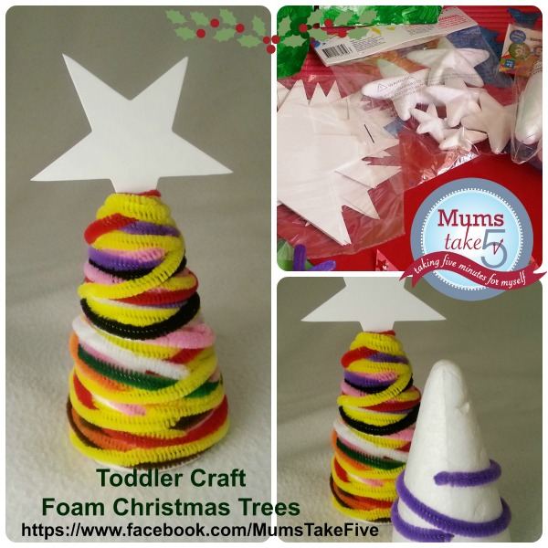 Christmas Tree Foam Craft