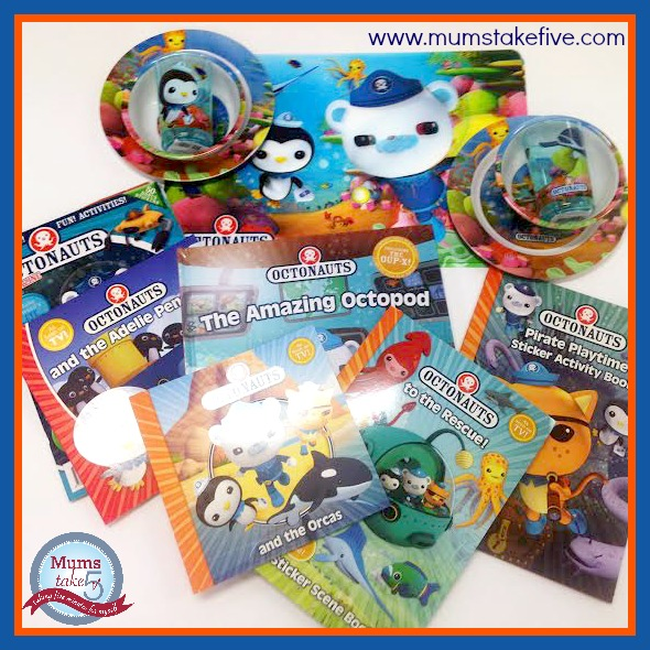 Mums Take Five Octonauts