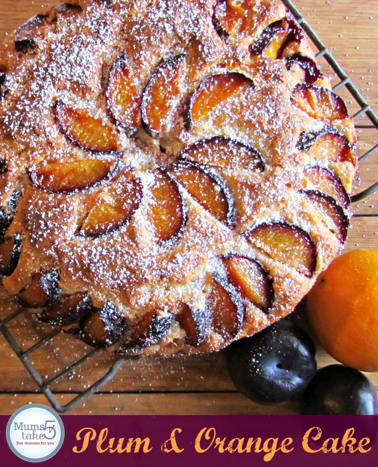 Plum and Orange Cake  Greek Yoghurt Cake