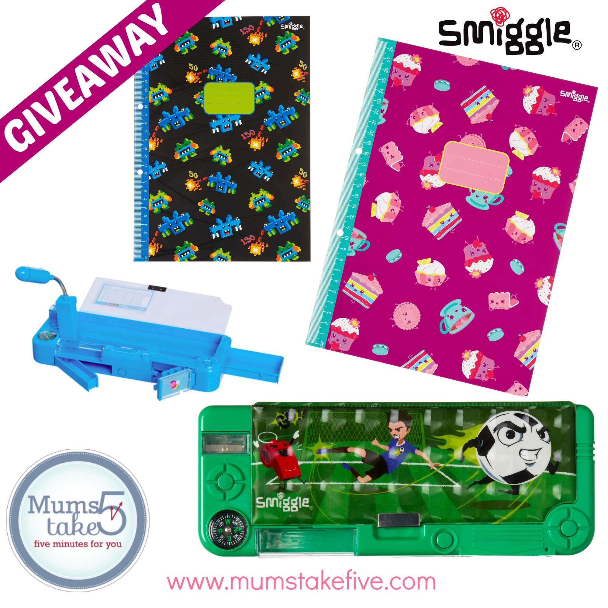 Smiggle Back to School Giveaway