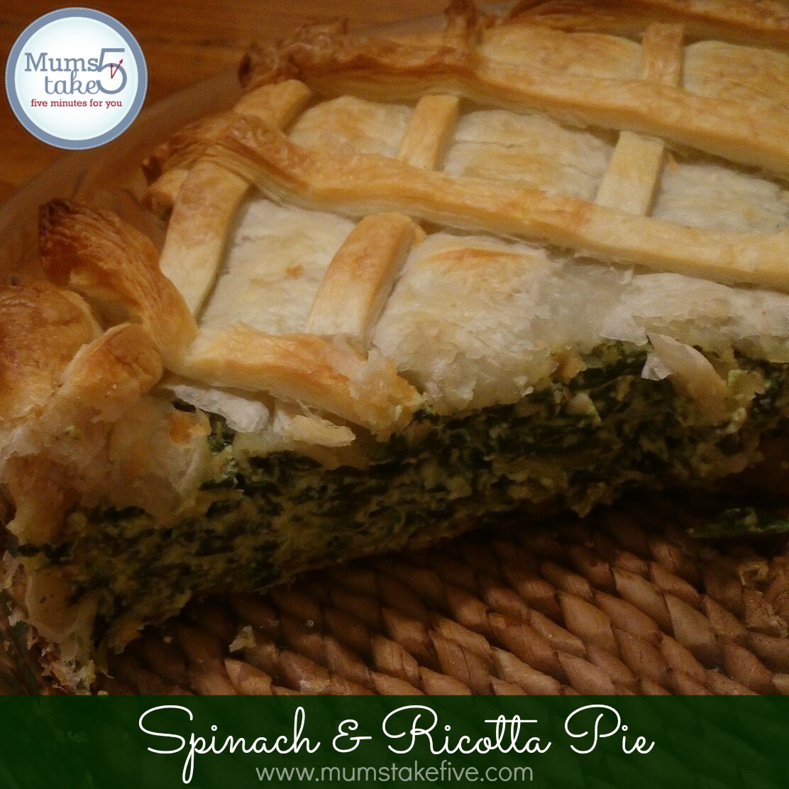 Spinach and Ricotta Pie Recipe