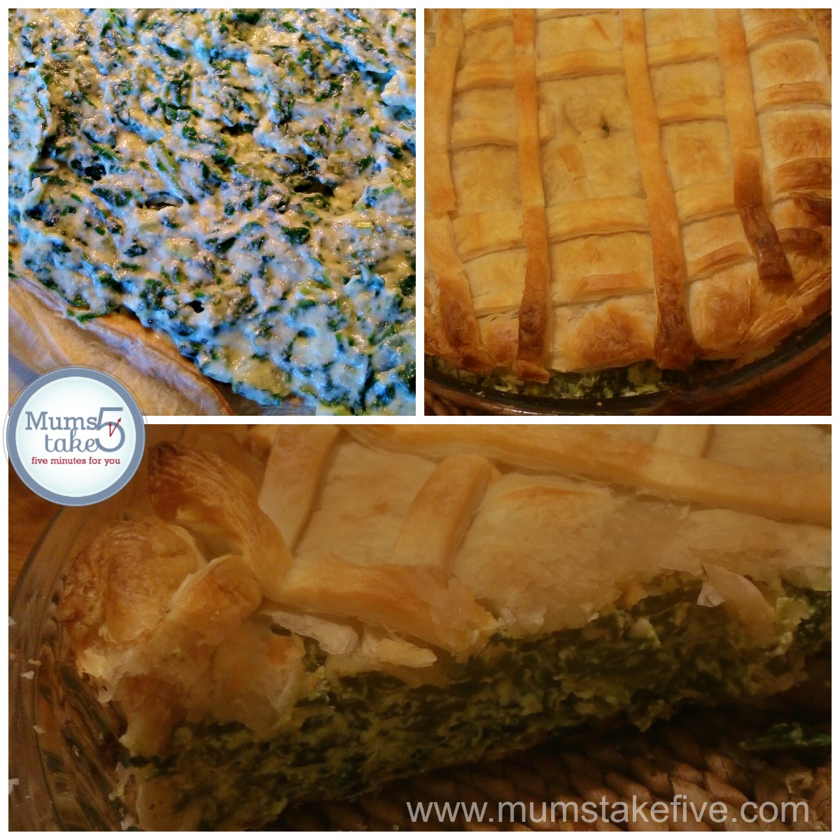 Easy Spinach and Ricotta Pie Recipe