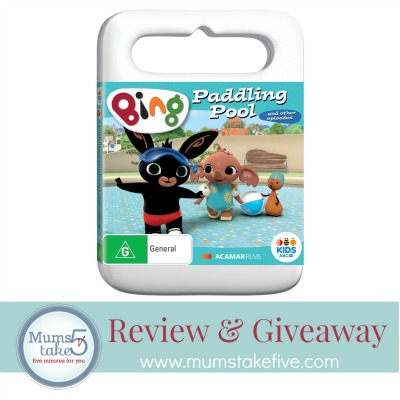 Bing  Paddling Pool DVD Giveaway