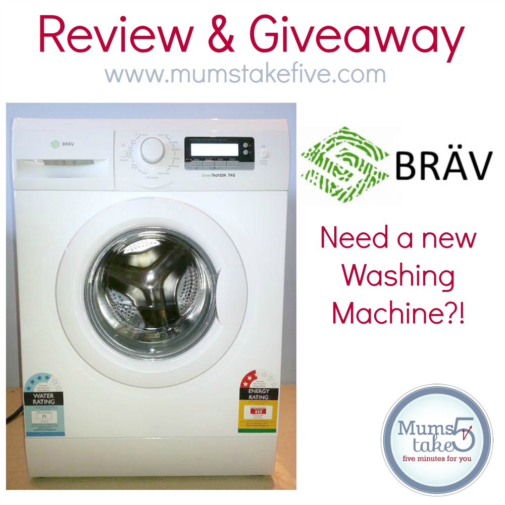 BRAV  Washing Machine Review and Giveaway