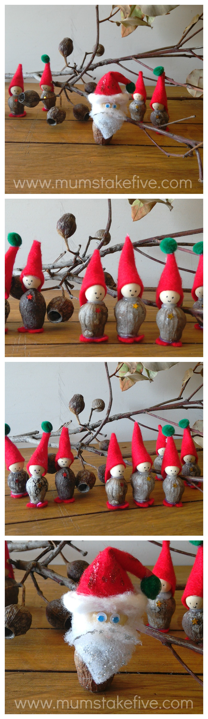 Christmas Gum Nut Craft