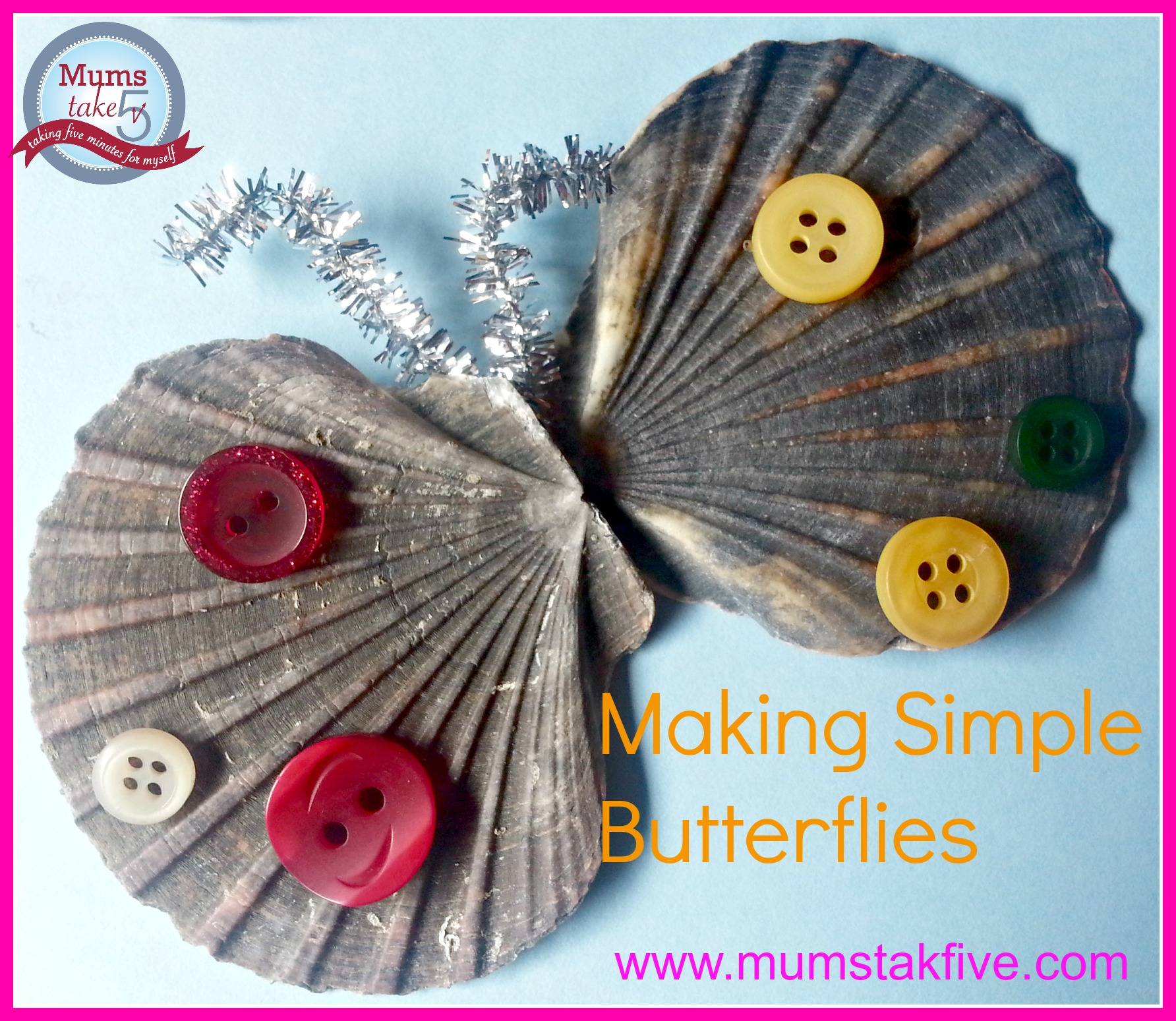 Butterfly Craft Kids Easy Craft
