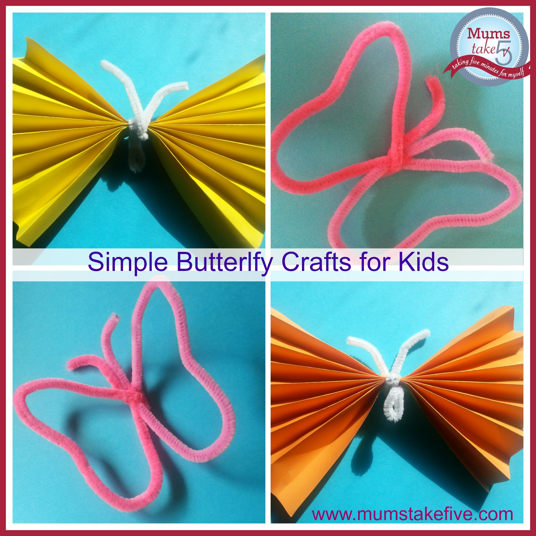 toddler and preschool butterfly craft