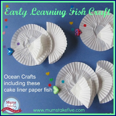early learning fish craft