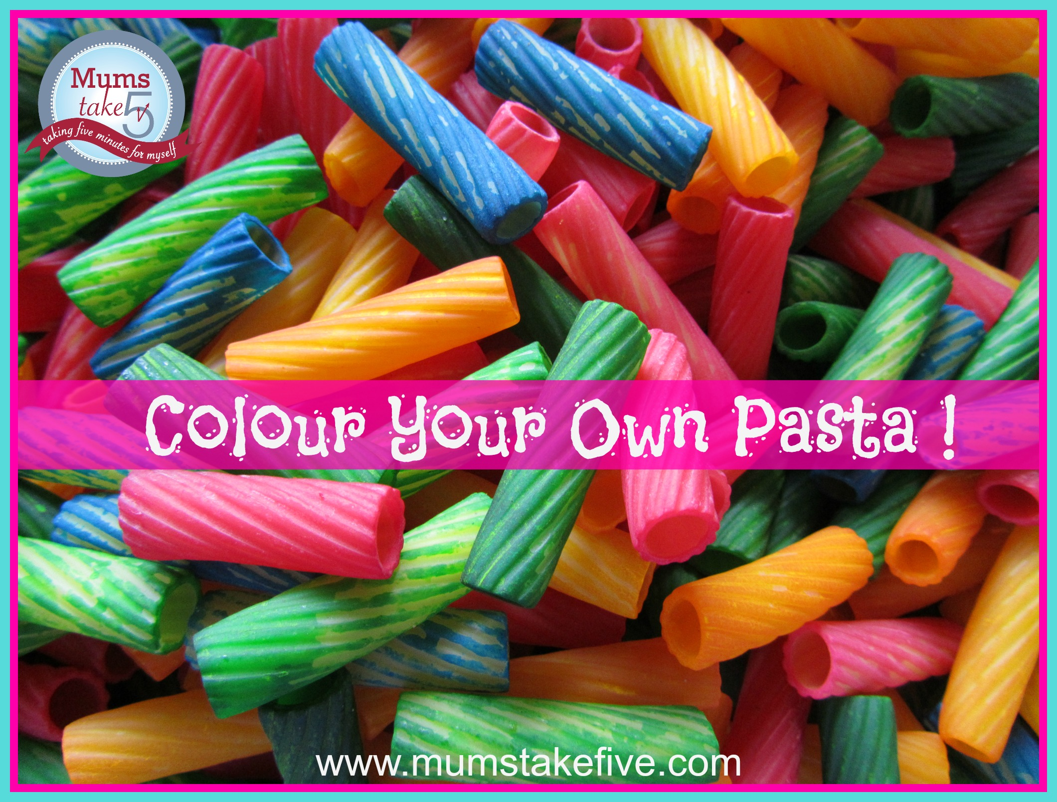 Colour your own pasta