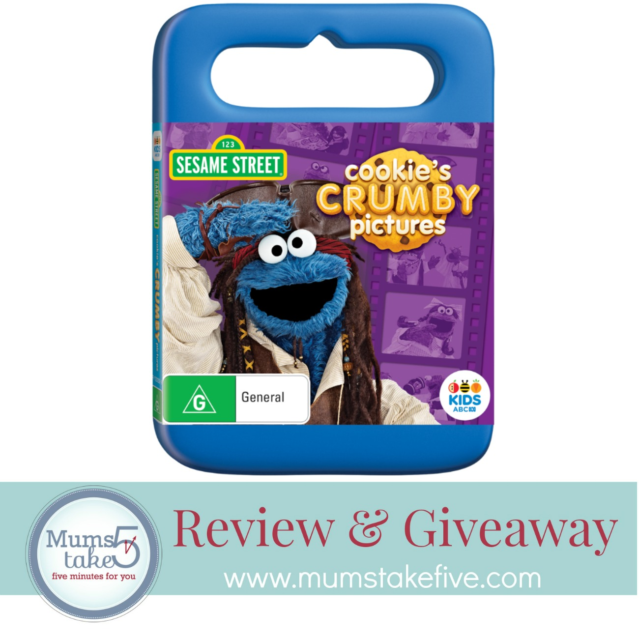 Cookies Crumby Pictures DVD Giveaway