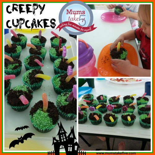 Halloween Party food scary cupcakes halloween snacks