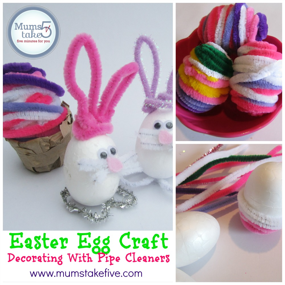 easter egg pipe cleaner craft