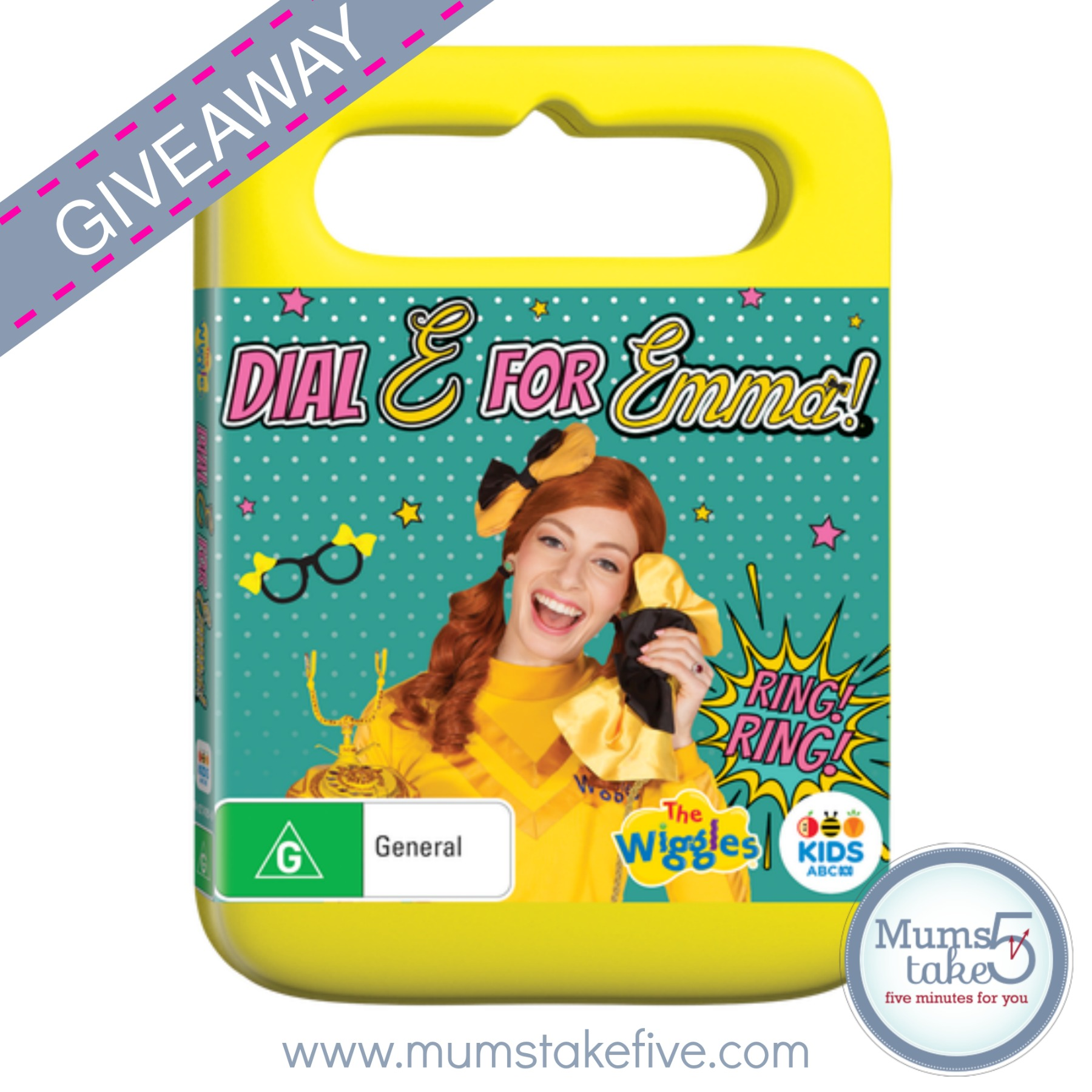 Emma Wiggles DVD GIveaway