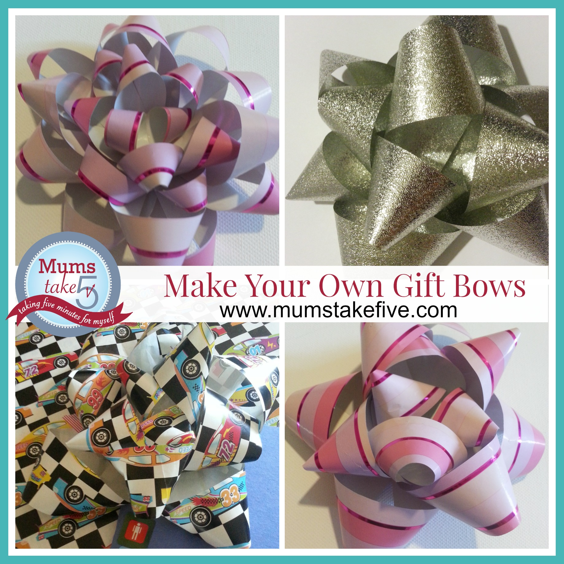 how to gift bows