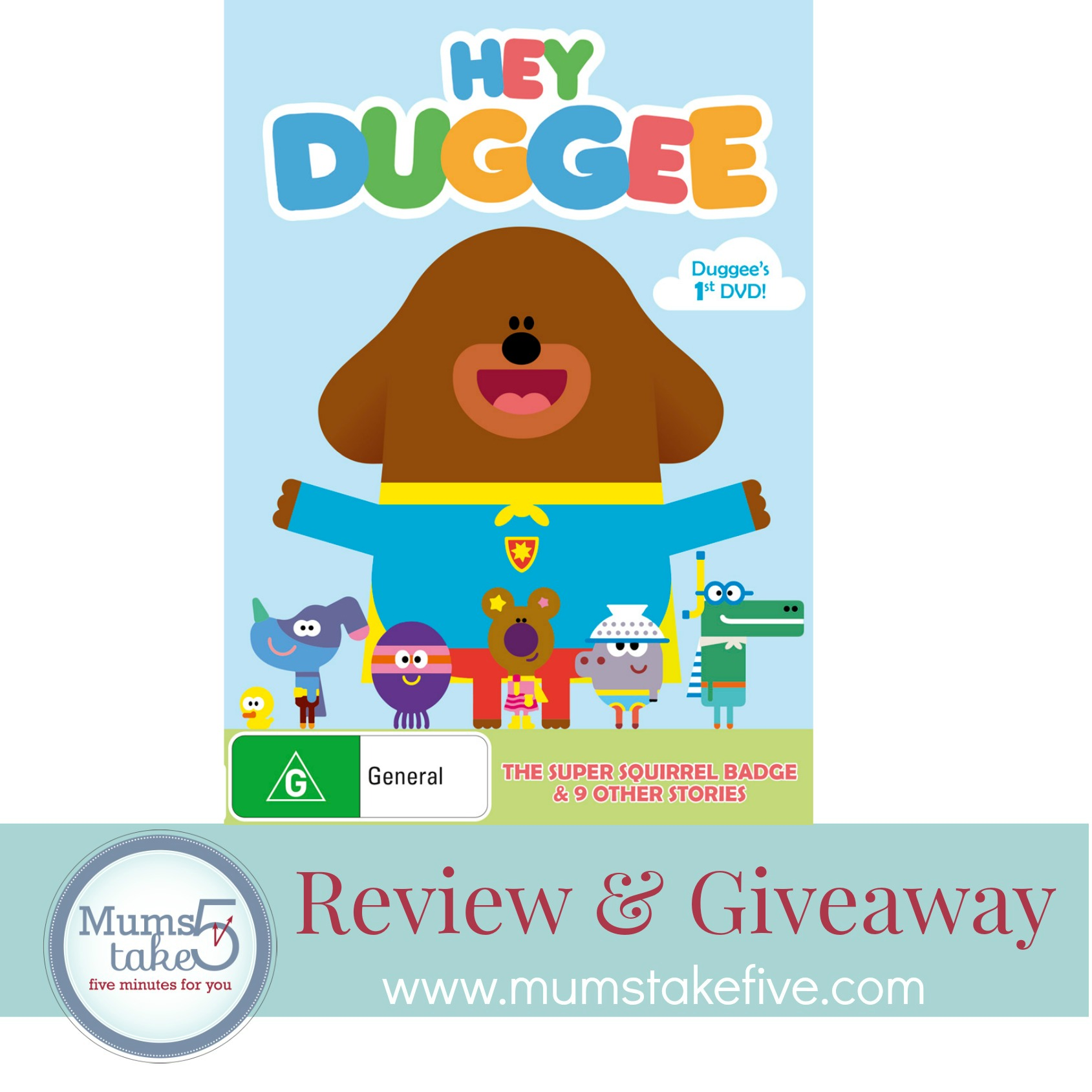 Hey Duggee  DVD Giveaway