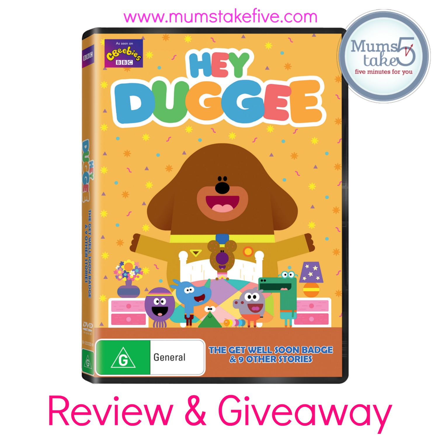 Hey Duggee  DVD Review and GiIveaway