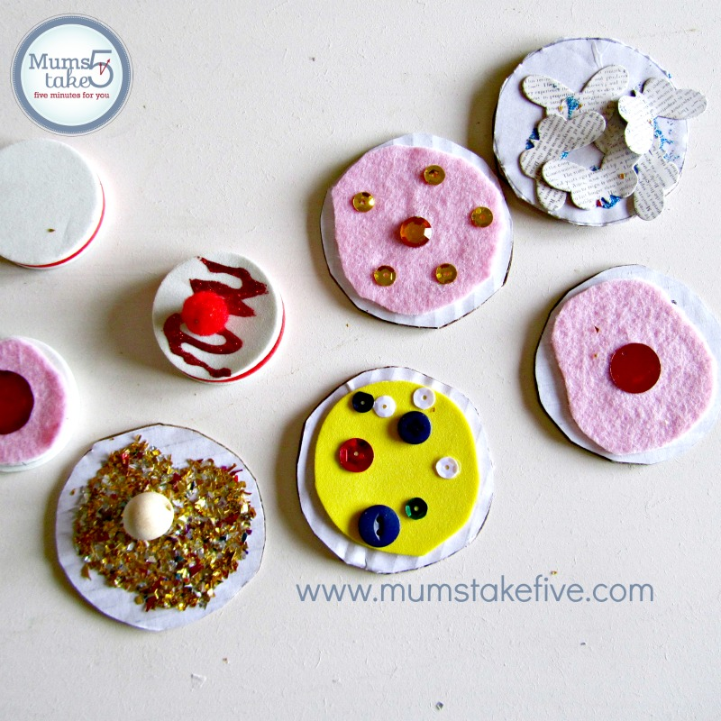 Kids cookie craft