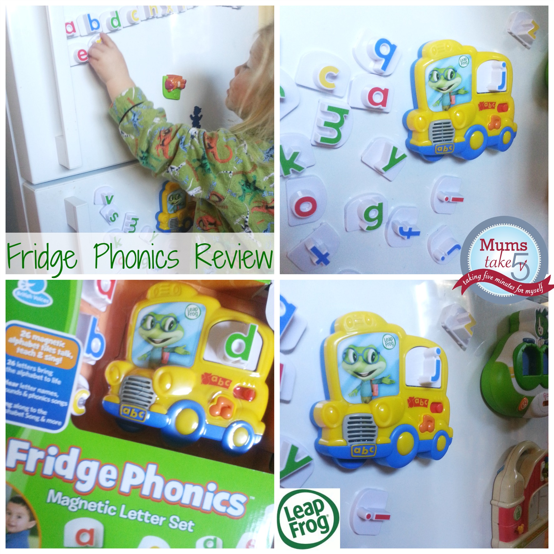 Leap Frog Fridge Phonics Review