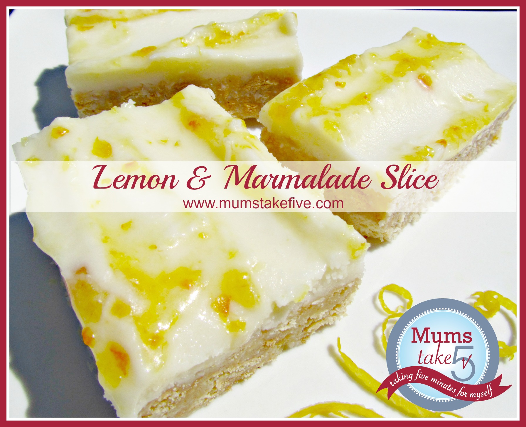 Lemon Marmalade Slice