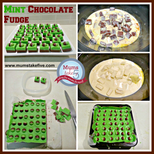 Mint Chocolate Fudge Slow Cooker Recipe