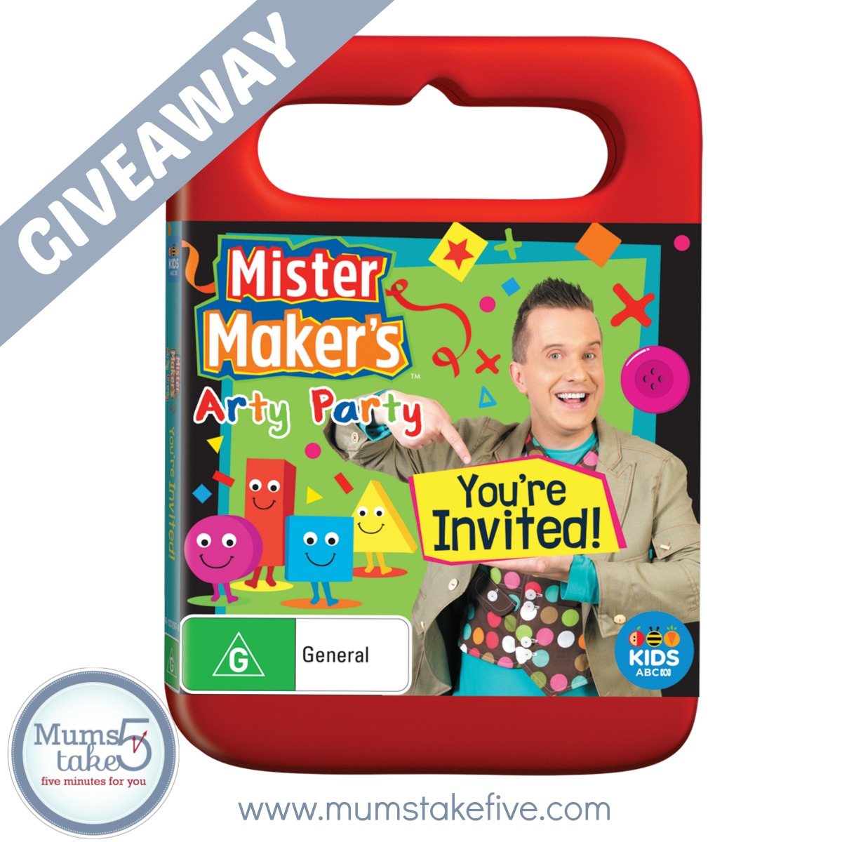 Mister Maker Arty Party GIveaway
