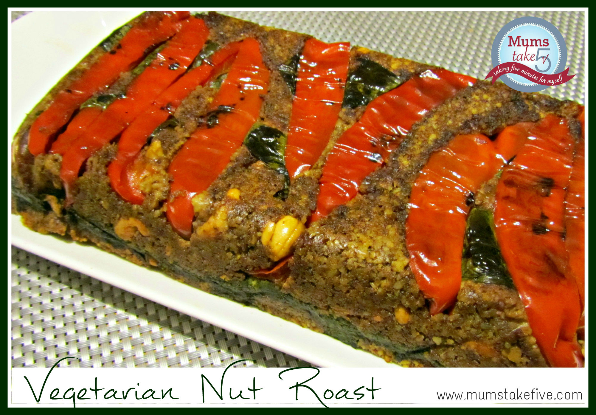 Vegetarian Nut Roast Loaf Paleo