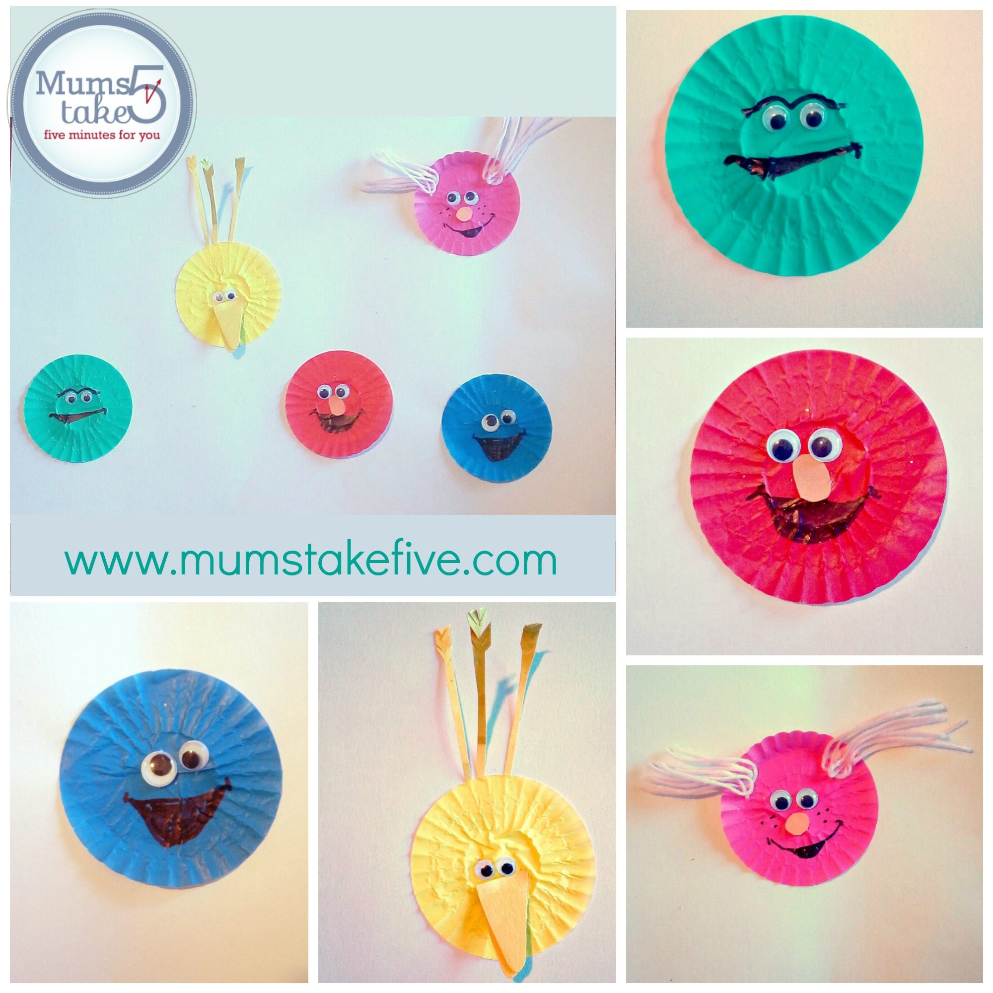 Sesame Street Easy Kids Craft
