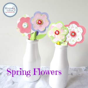 spring flowers kids craft