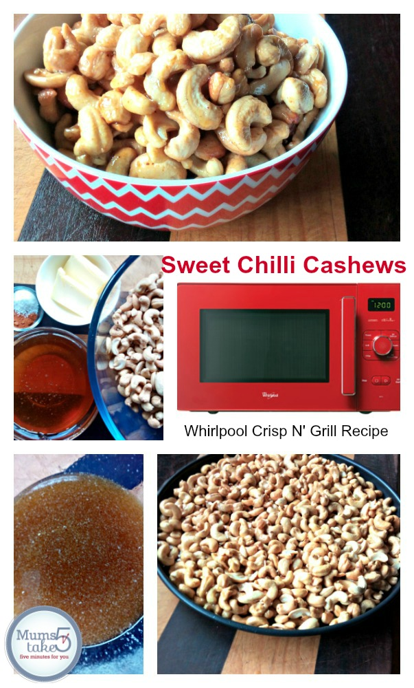 Chilli Caramel Cashews Recipe