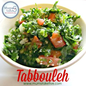 Easy Tabbouleh Recipe