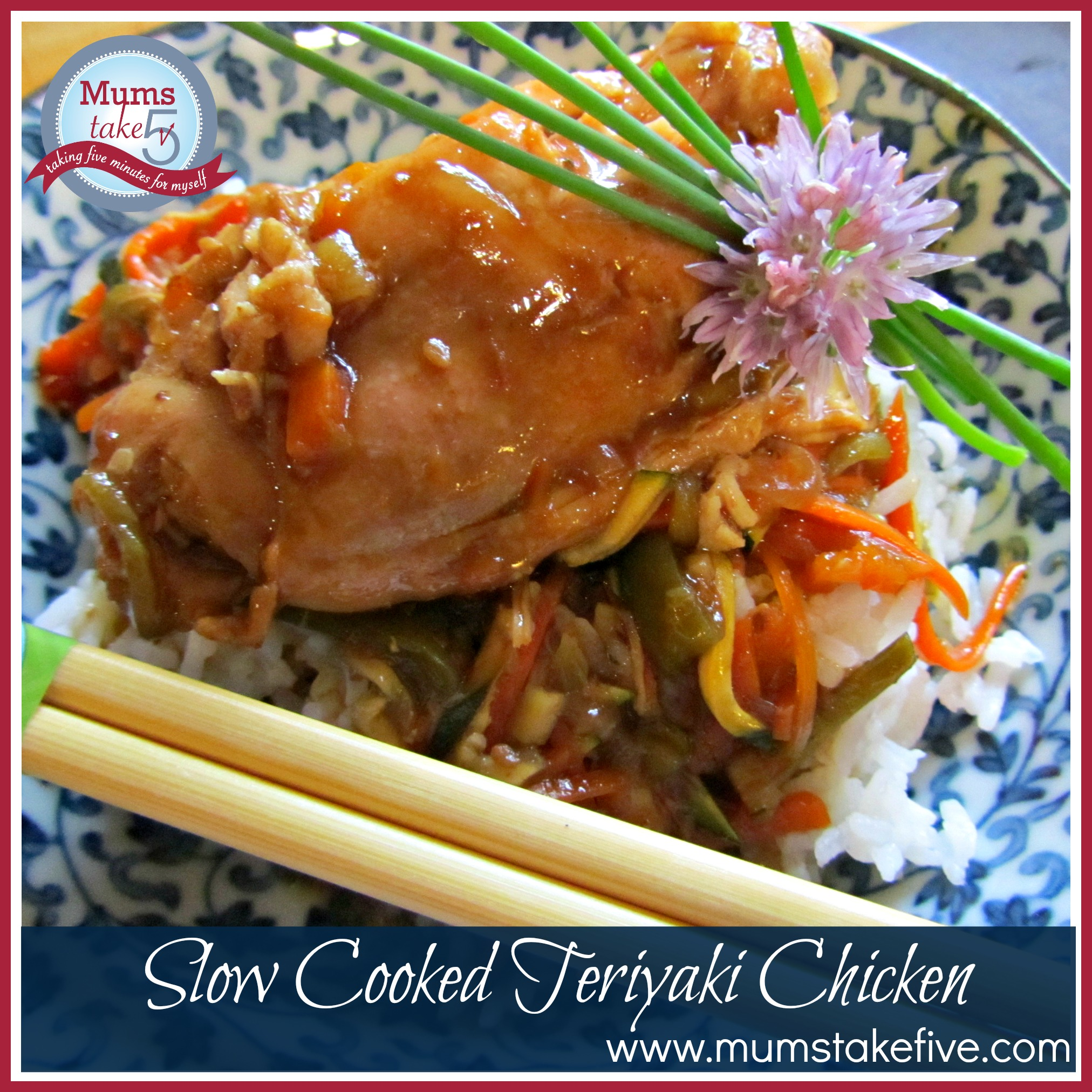 Slow Cooked Teriyaki Chicken. easy family meal