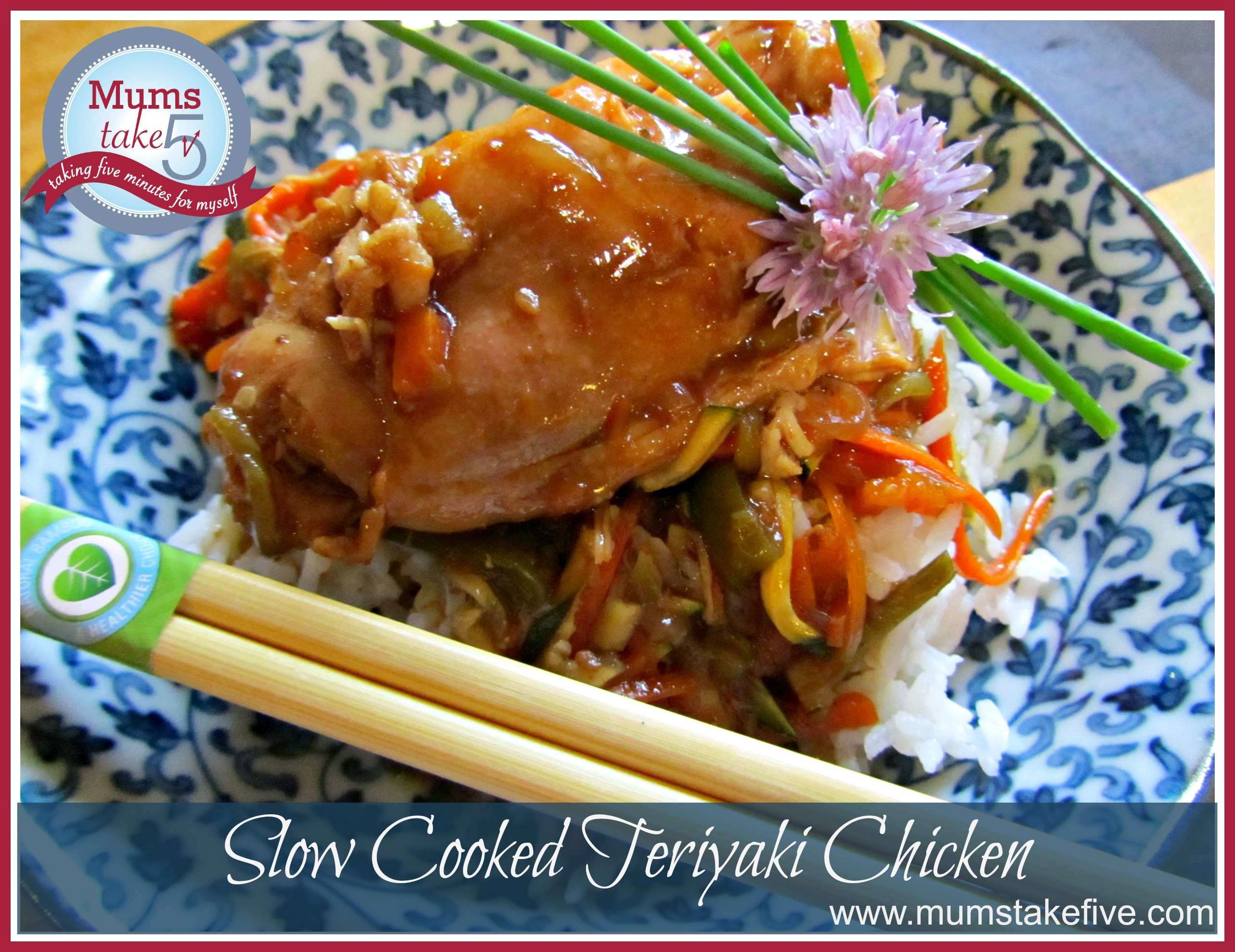 Slow Cooked Teriyaki Chicken