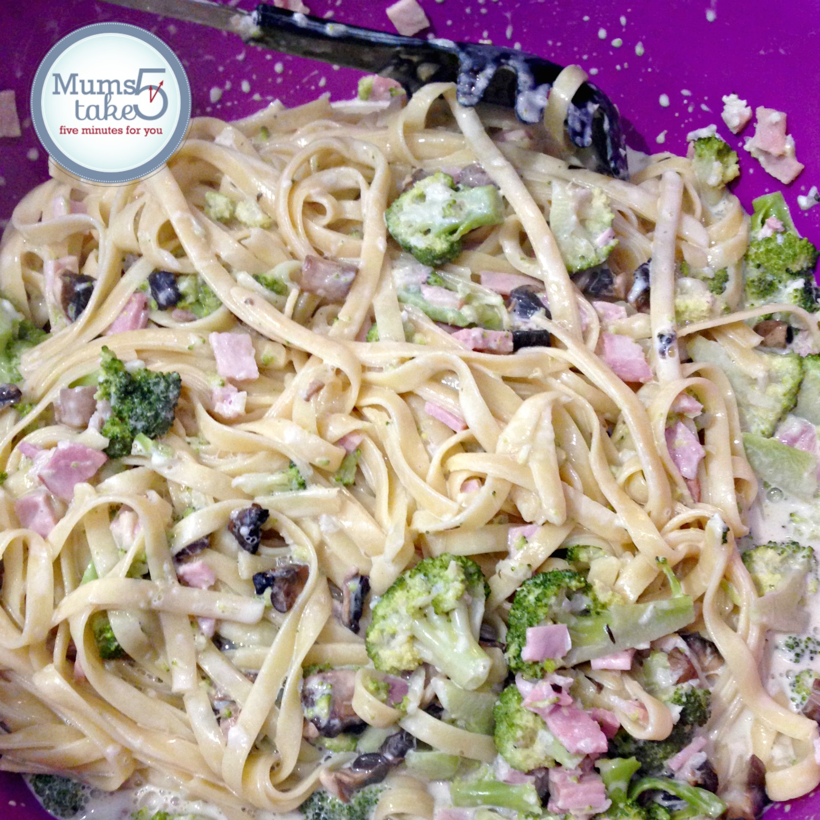 Thermomix Ham and Broccoli Pasta Recipe