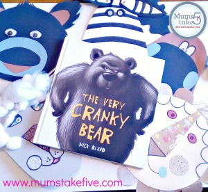 Book Week Cranky Bear Masks