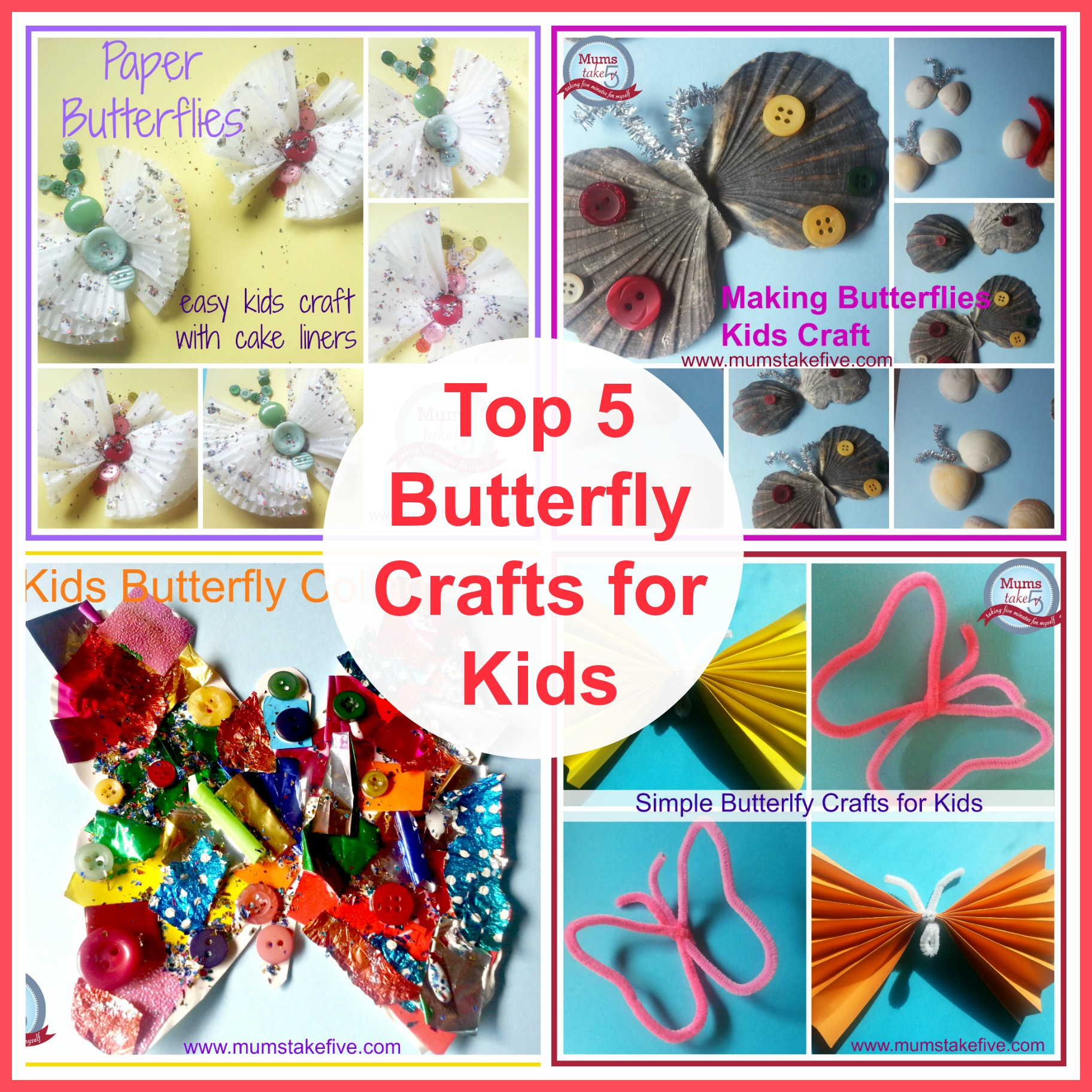 butterfly craft easy kids craft