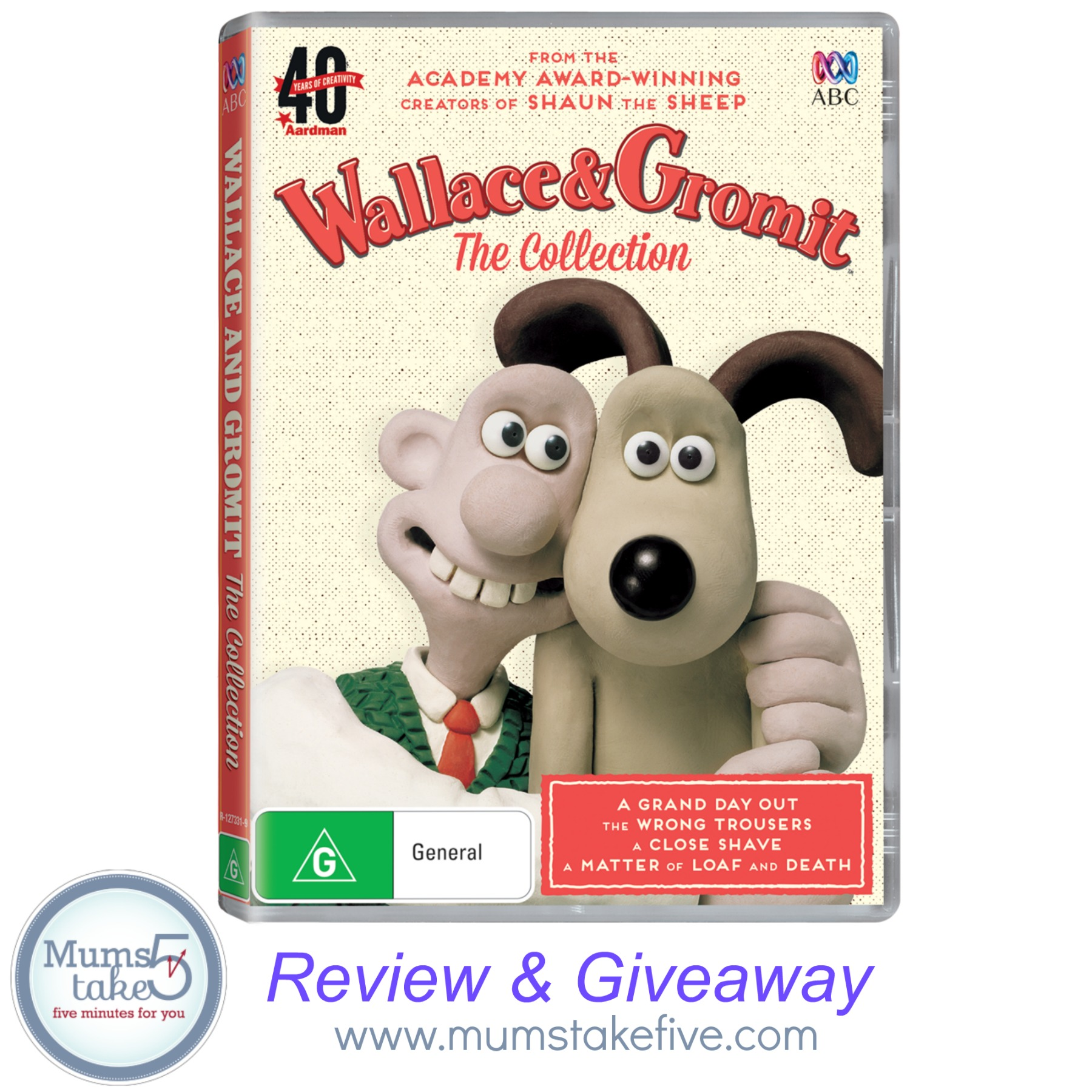 Wallace & Gromit DVD Collection