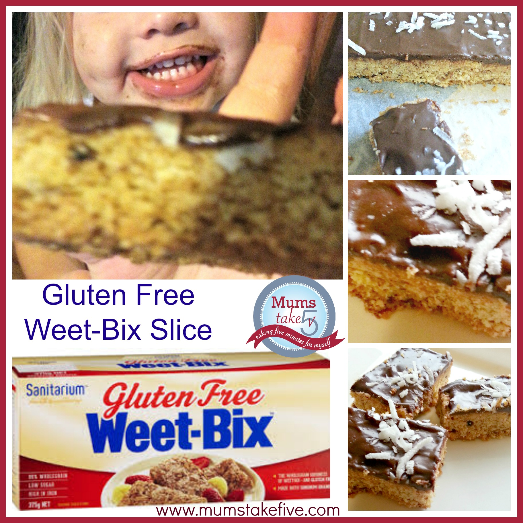 traditional weetbix slice made gluten free